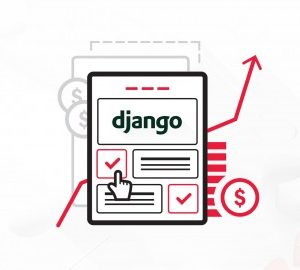First landing page with django