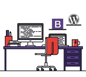 WordPress Theme Academy with Bootstrap